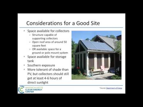 Renewable Energy Technologies for Residences Webinar