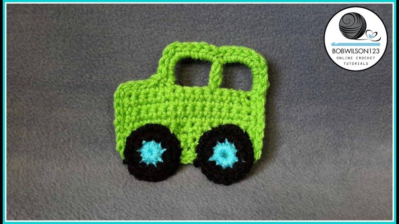 crochet applique tutorial