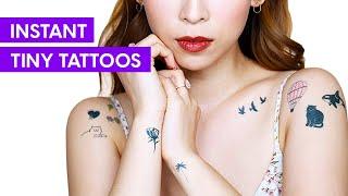 Instant Tiny Tattoos | TINA TRIES IT