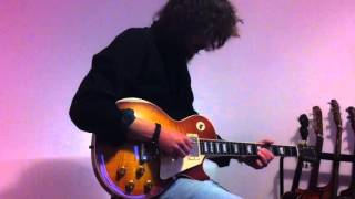 Gibson Les Paul 1959 Marshall JTM45 and Fender Deluxe Reverb