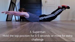 5 Lower Back Exercises | Calisthenics/Bodyweight Training