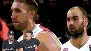 VASSILIS SPANOULIS VS DIMITRIS DIAMANTIDIS REACTION