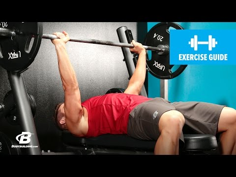 Barbell Bench Press Medium-Grip | Exercise Guide
