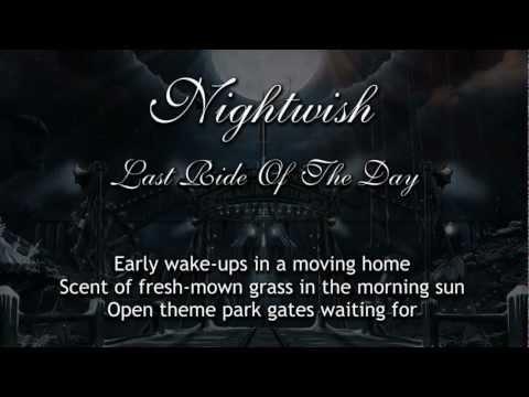 Nightwish  Last Ride Of The Day With Lyrics