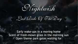 Nightwish - Last Ride Of The Day (With Lyrics)