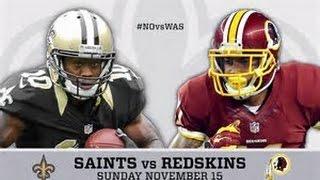 ESPN NFL 2K5 Franchise - The Washington Redskins Vs The New Orleans Saints