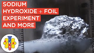 Amazing Experiments You Can Do at Home | Sodium Hydroxide And Foil and More | Lab 360