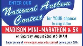 2015 Madison Mini Marathon National Anthem Competition