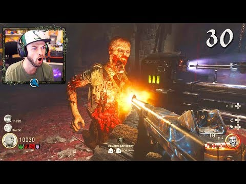 COD WW2 Zombies GAMEPLAY - EASTER EGG COMPLETED! (Call of Du