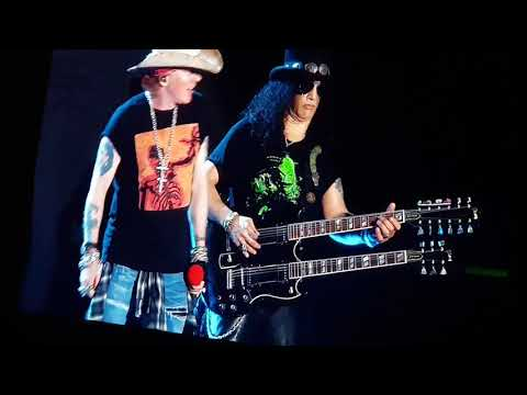 Knockin On Heavens Door By Guns And Roses Live In Manila. Not In This Lifetime Concert