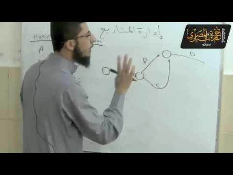 1- إدارة المشاريع - شرح الفيرست / عبد الرحيم حمودة - البولتكنك