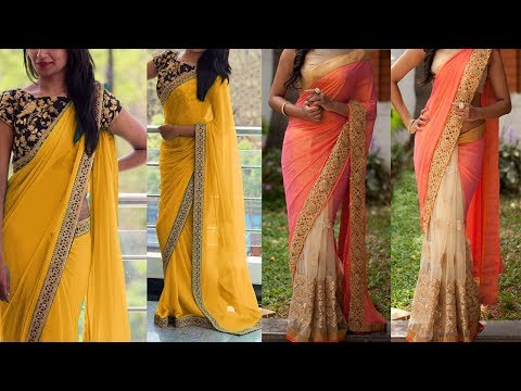 Saree Draping Styles For Party | 5 Gorgeous Ways To Wear Saree with Different Pallu Styles|Look Slim