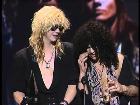 Guns N' Roses Win Heavy Metal Album - AMA 1990