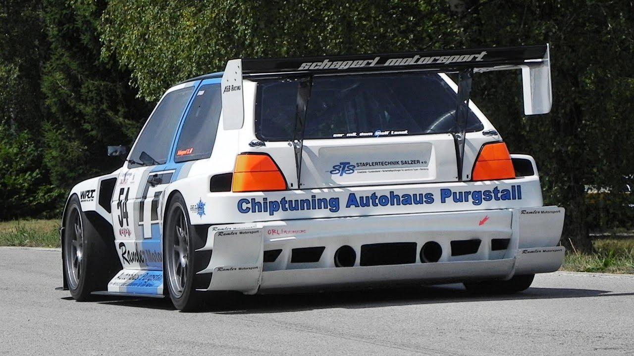 Race Car Up A Hill