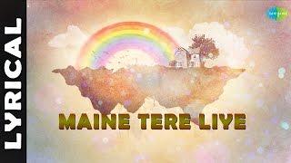 Maine Tere Liye | Anand | Hindi Movie Song | Lyrical | Mukesh