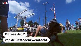 Samenvatting dag 2 Elfsteden Zwemtocht Maarten van der Weijden