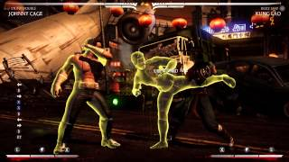 MKX Johnny Cage Stunt Double Pressure/Normals Guide