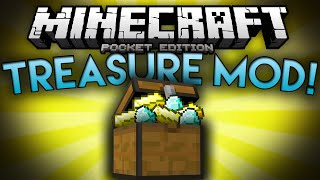 BURIED TREASURE MOD!!!! - Treasure Chests, Pirates, and More!!! - Minecraft Pocket Edition