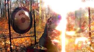 Gong Bath Meditation Sound Healing by Humo Maya.