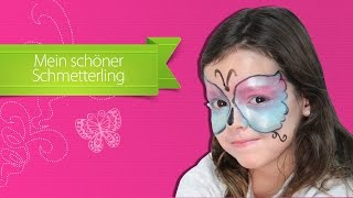 Repeat youtube video Schmetterling Make-Up Anleitung