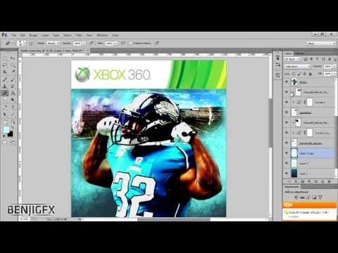 Madden NFL 13 Cover | Time Lapse