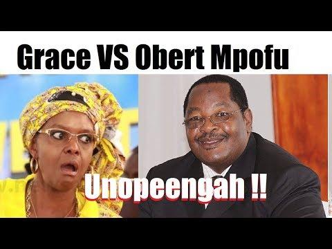 Grace Mugabe VS Obert Mpofu - Unopenga