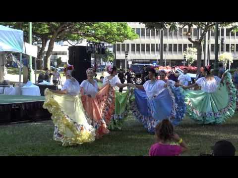 Boricuas de Hawaii Performing at the Hispanic Heritage Festival  Hawaii 2015