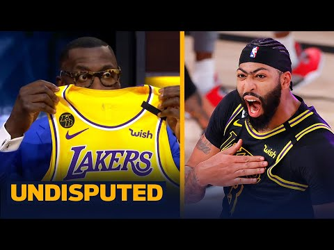 Shannon Sharpe reacts to Anthony Davis' buzzer beater in GM 2 win over Nuggets   NBA   UNDISPUTED
