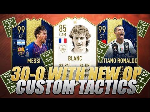 I GOT 30-0 WITH NEW OP CUSTOM TACTICS - FIFA 19 FUT CHAMPIONS HIGHLIGHTS thumbnail