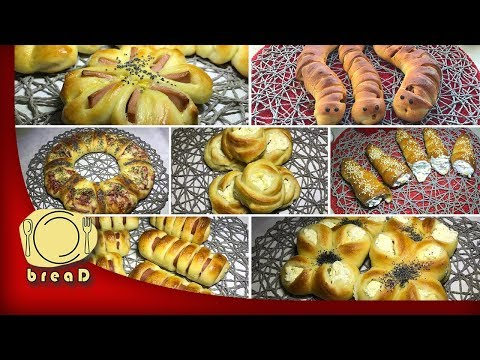 15 ideja od ludog tijesta | Crazy Dough | breaD