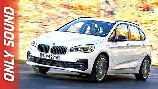New BMW serie 2 gran tourer 225xe 2018 - first test drive only sound