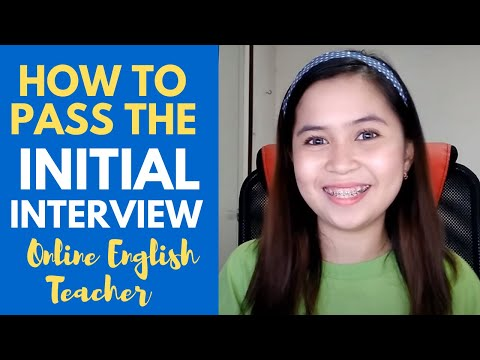 HOW TO PASS THE INITIAL INTERVIEW (Acadsoc)