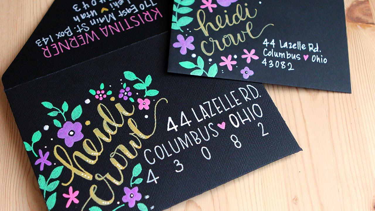 Kirarina Wink Markers Amp Decorating Envelopes Mail Art