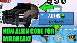Roblox Jailbreak Codes 2019 + New Update   Alien Invasion   Alien Code!