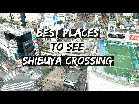 Top 5 Photo Spots Of Shibuya Scramble Crossing | 渋谷スクランブル交差点のビューポイント5選 InternationallyME