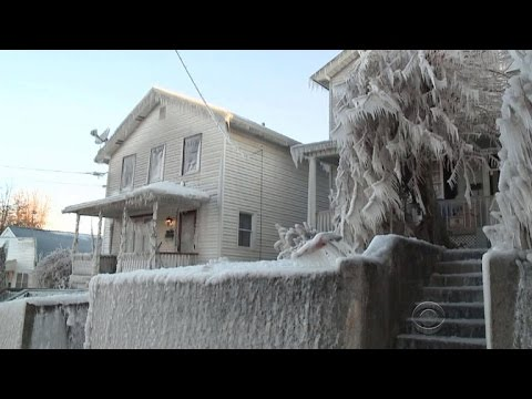 Cold snap grips northeast United States