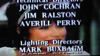 One Life to live Credits, Oprah Intro with commercials