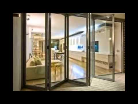 folding doors & folding doors - YouTube