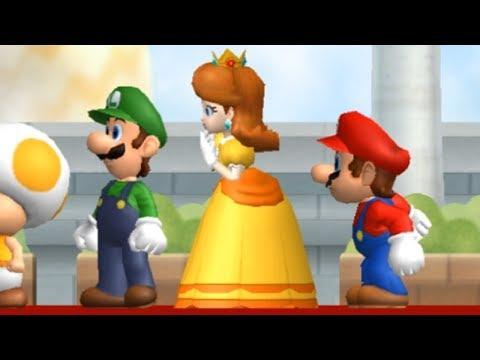 New Super Luigi Bros Wii Walkthrough - Part 1 - World 1