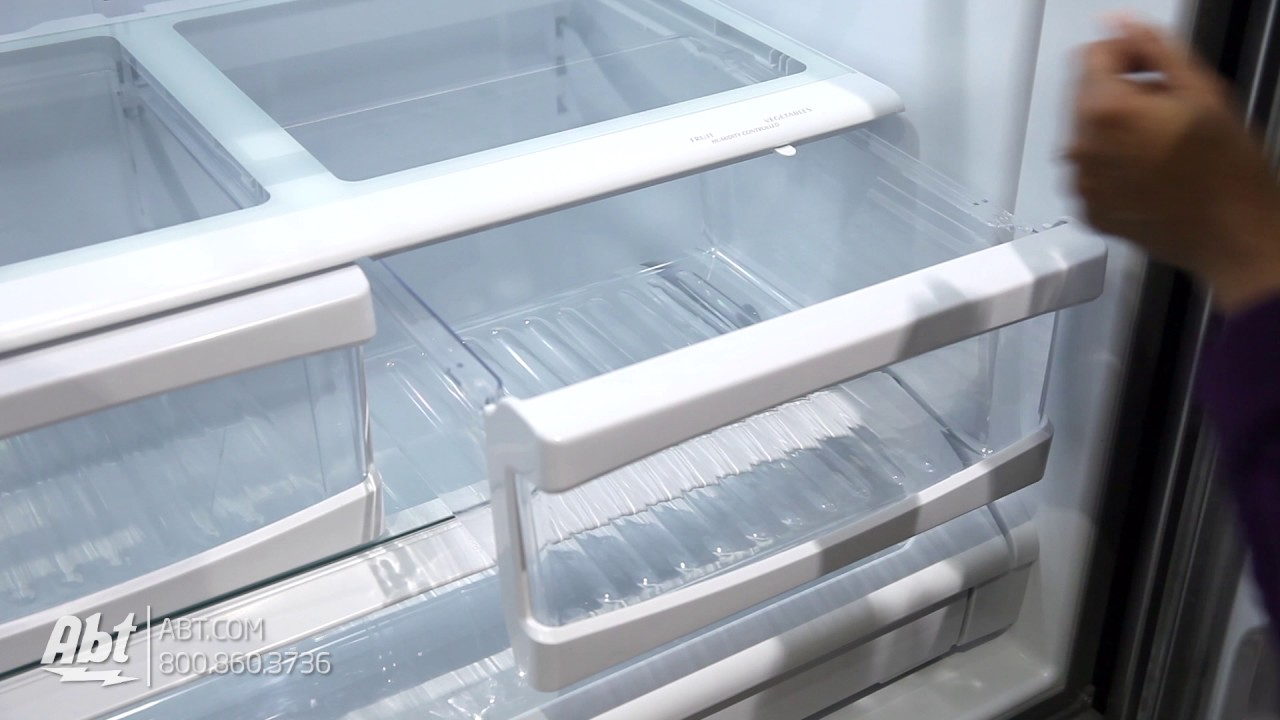 Whirlpool French Door Refrigerator Wrf535smbm Tour Youtube