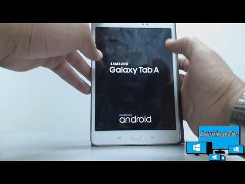 Formatear Tablet Samsung Galaxy Tab A  T-350 En Español
