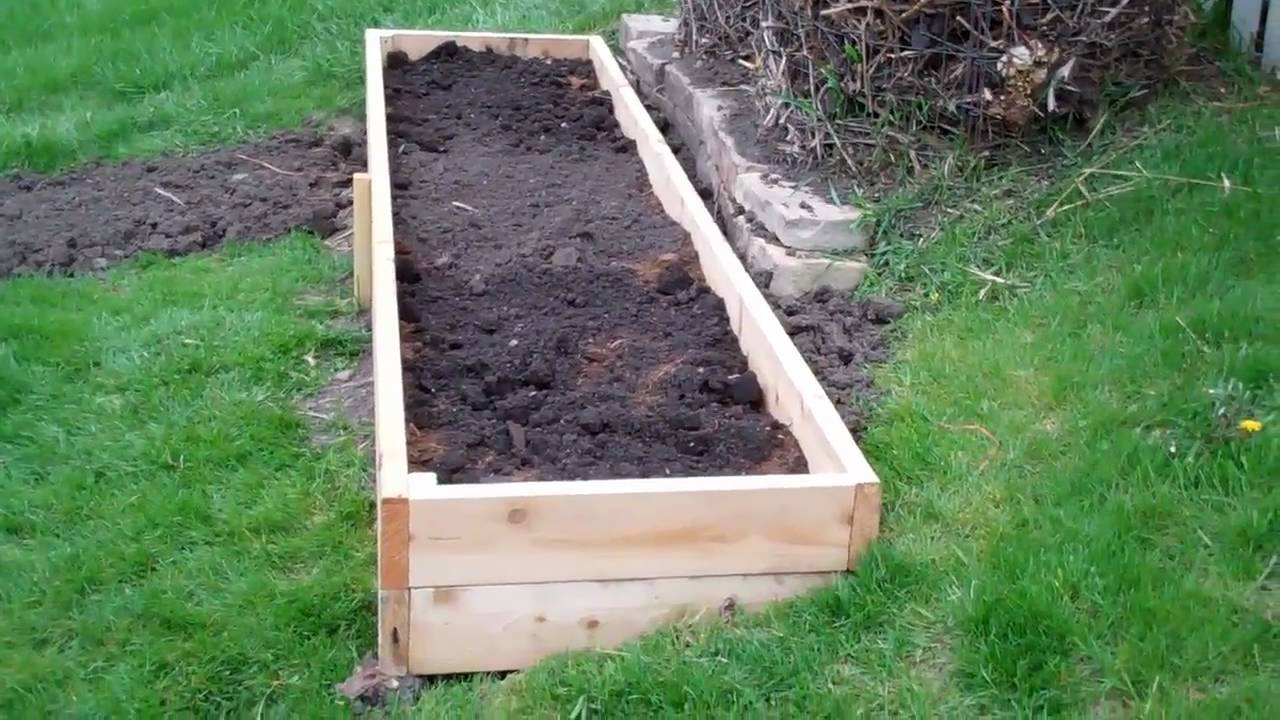 2011 Raised Bed Expansion  Part 3   YouTube