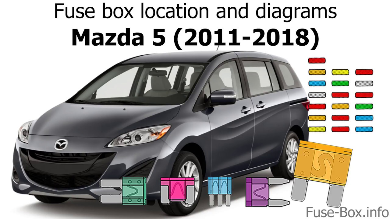 medium resolution of fuse box location and diagrams mazda 5 2011 2018 youtubefuse box location and diagrams