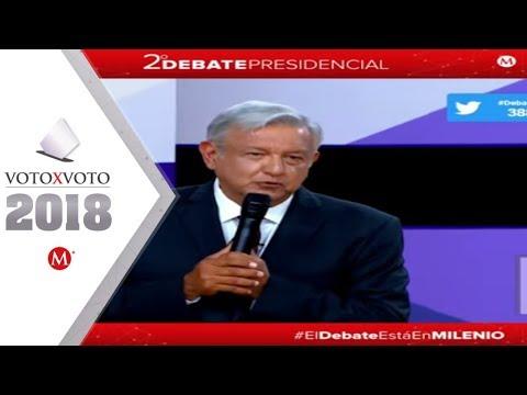 Los mejores momentos del segundo debate presidencial 2018