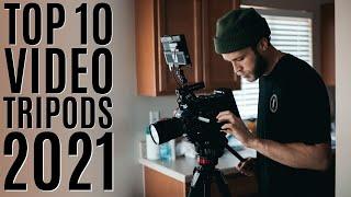 Top 10: Best Professional Video Tripods of 2021 / Heavy Duty Camera Tripod / Fluid Head