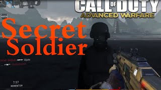 "Advanced Warfare ""SECRET SOLDIER"" on Retreat! ""WORLD WAR 2 SOLDIER"" Hidden Easter Egg!"