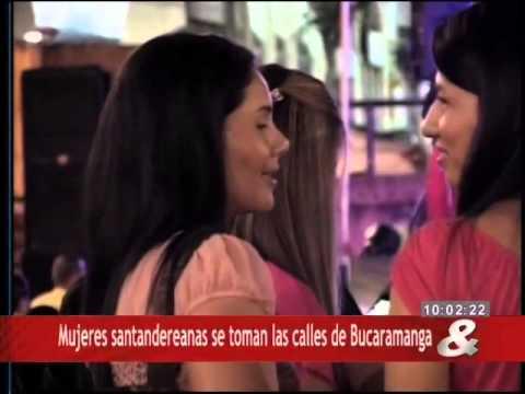 Mujeres Santandereanas Se Toman Las Calles De Bucaramanga