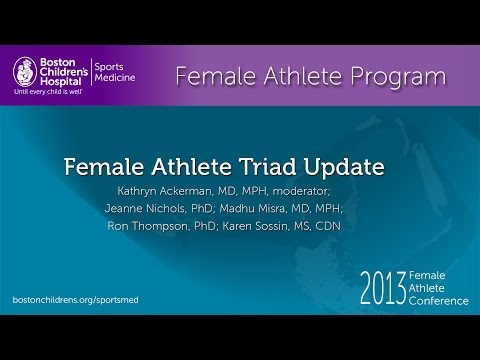 Female Athlete Triad Update - Female Athlete Program - Sports Medicine - Boston Children's Hospital