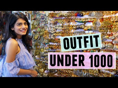Outfit Under 1000 Challenge: At Colaba Causeway | Saved ₹ 350 | Dhwani Bhatt