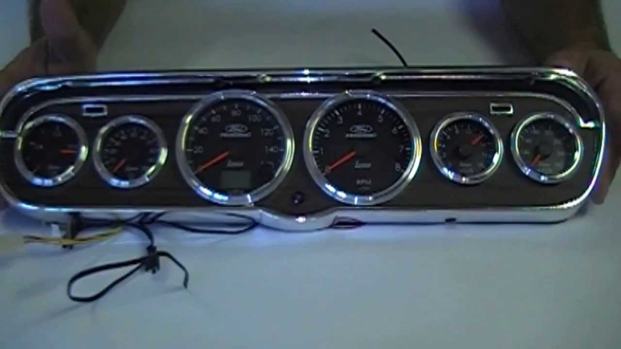 1965 Ford Mustang Instrument Cluster